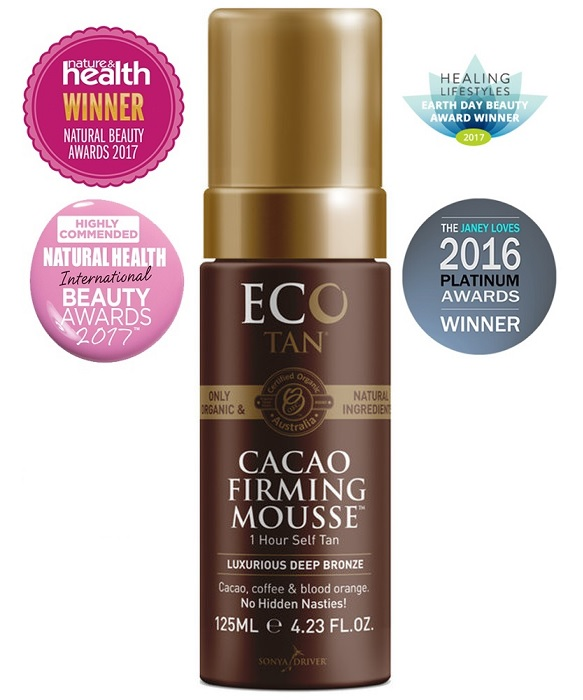 Eco Tan Certified Organic Cacao Firming Mousse