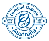 Organic Food Chain Logo